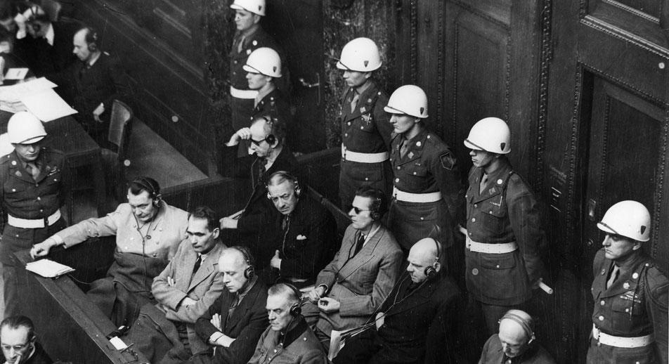 Le procès de Nuremberg. Photo de Evgueni Khaldeï. Crédit : UllsteinBild/Vostock-Photo