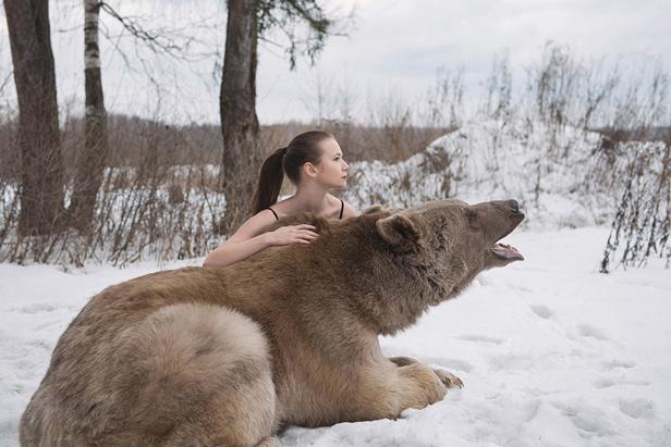 ours et femme