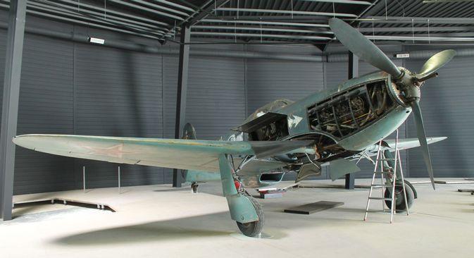 Un Yak-3 exposé au musée de l'Air et de l'Espace. Crédit : service de presse du groupe bancaire Zenit
