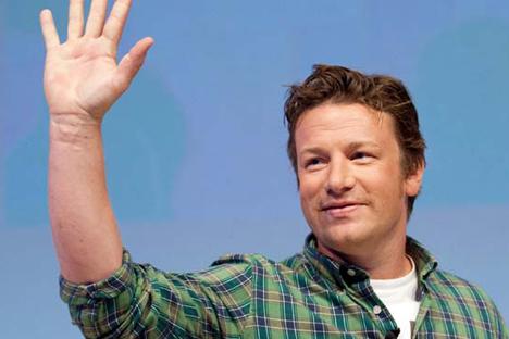Ginza et Jamie Oliver (sur la photo) ont déjà un projet commun Crédit : EPA