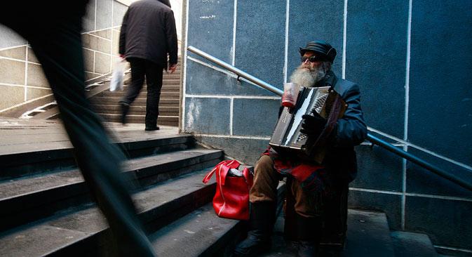 Immer mehr Russen werden arm. Foto: Reuters