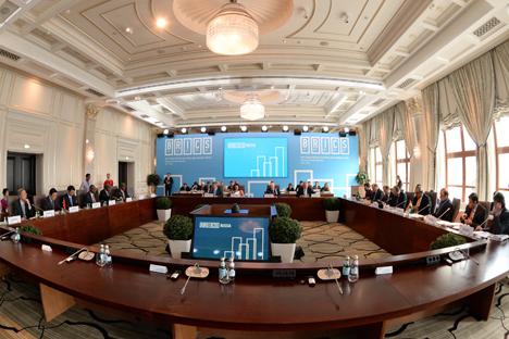 La réunion du Conseil d'affaires des BRICS.