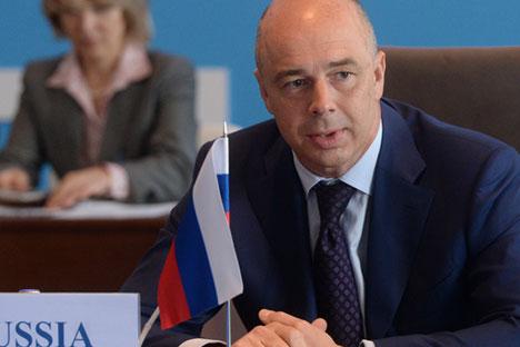 Le ministre russe des Finances Anton Silouanov annonce le lancement de l'activité de la banque des BRICS.