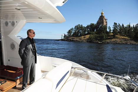 Der russische Präsident legt Wert auf sein Erscheinungsbild.