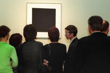 Obra de Malevitch é símbolo precursor do vanguardismo russo
