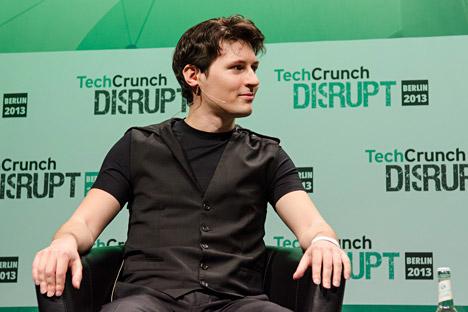 Pavel Dourov, fondateur du réseau social russe Vkontakte.
