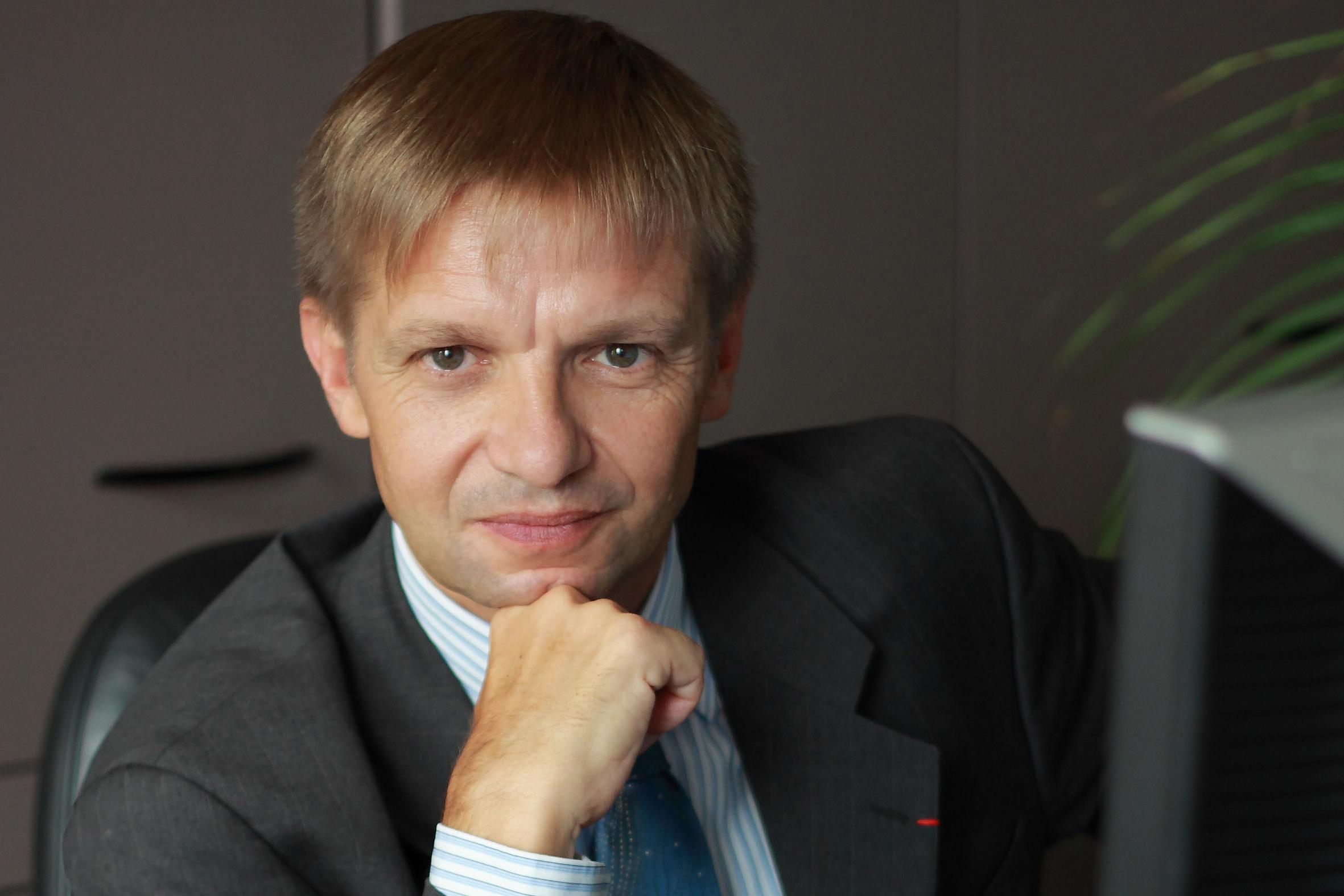 Philippe Pégorier, président de l'AEB en Russie.