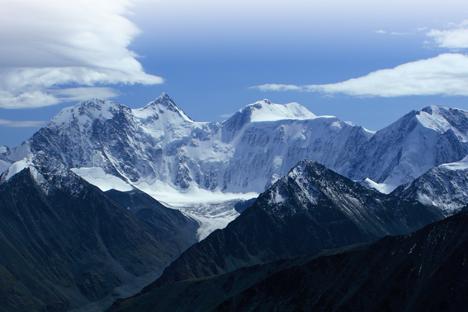 Les Monts Altaï,dans lesudde la Sibérie.