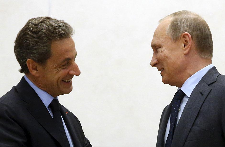 Rencontre Poutine-Sarkozy
