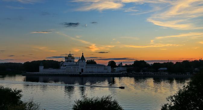 Vue du monastère Ipatiev de Kostroma.
