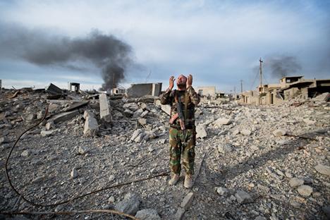 Le 13 décembre 2015. Après deux heures de combats, la ville irakienne de Sinjar a été libérée de Daech.