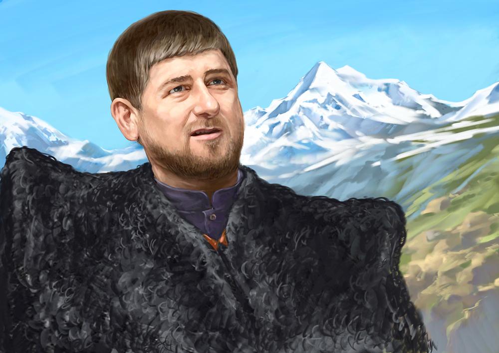 En dehors de la Tchétchénie, Kadyrov est particulièrement populaire auprès des Russes.