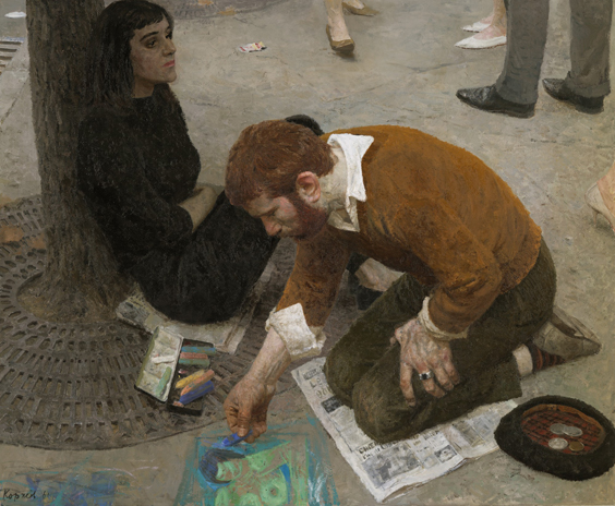 Un pittore di Geliy Korzhev.