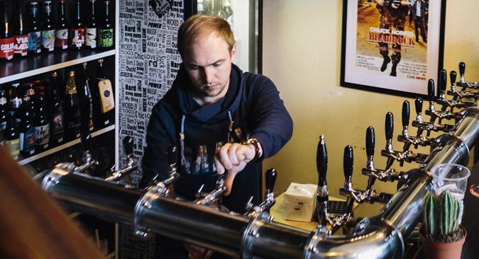 Les petites brasseries, selon le service fédéral de régulation du marché de l'alcool, occupent 10% du marché.