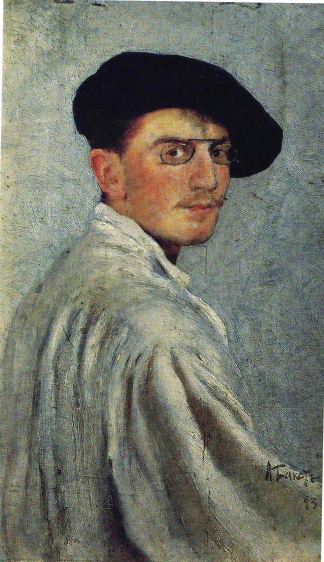 Autoportrait. Léon Bakst
