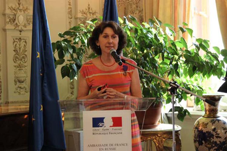 Irina Dejina, chef du groupe de politique scientifique et industrielle de l'Institut de la science et des technologies de Skolkovo (Skoltech)