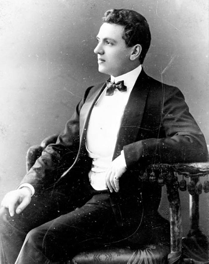 Ernest Beaux. Source libre