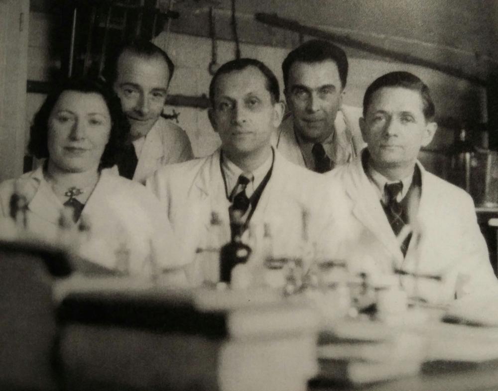 Konstantin Veriguine et ces collègues.