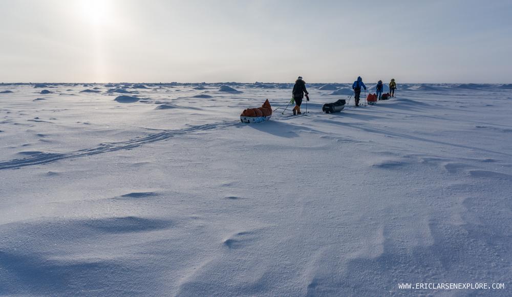 Sur le Pole du Sud.