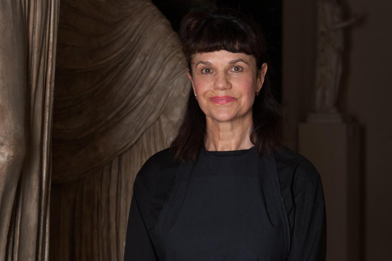 La directrice du Musée des Beaux-Arts Pouchkine de Moscou Marina Lochak.