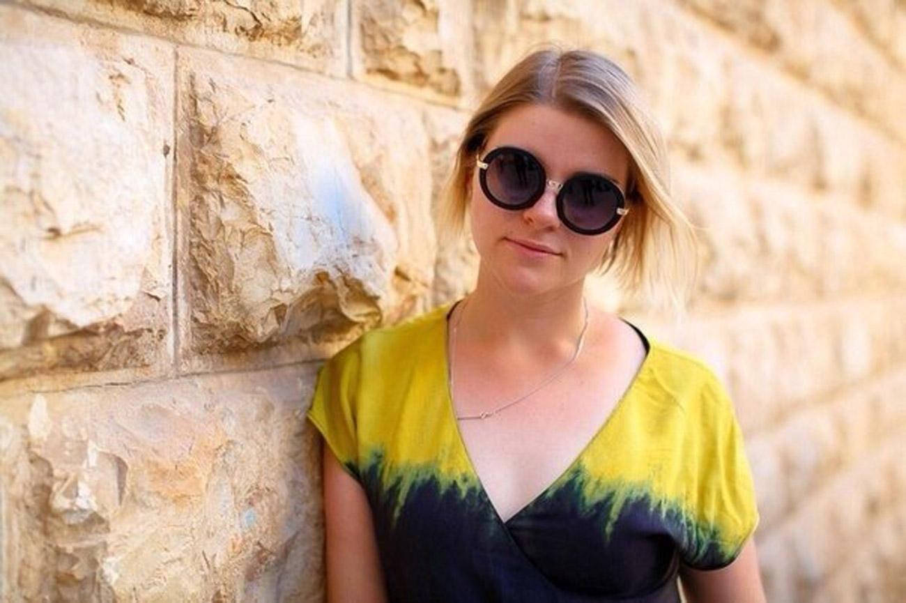 Anna Birinberg, Leiterin des jüdischen Zentrums Gillel. Foto: Bild aus dem persönlichen Archiv