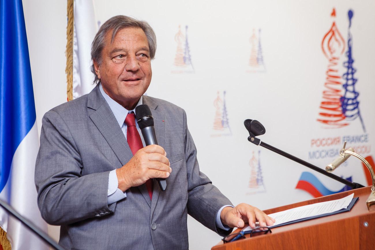 François Turcas, président de la GMPE de la région Auvergne-Rhône-Alpes.