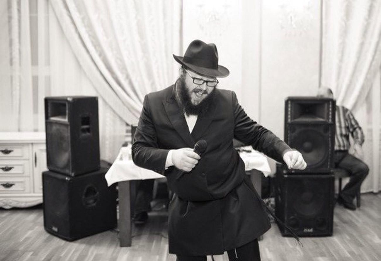"""Michoel Stawropolski, Leiter des Moskauer Büros """"Jewrostars"""" und Vorsitzender des jüdischen Jugendclubs Jewell. Foto: Bild aus dem persönlichen Archiv"""