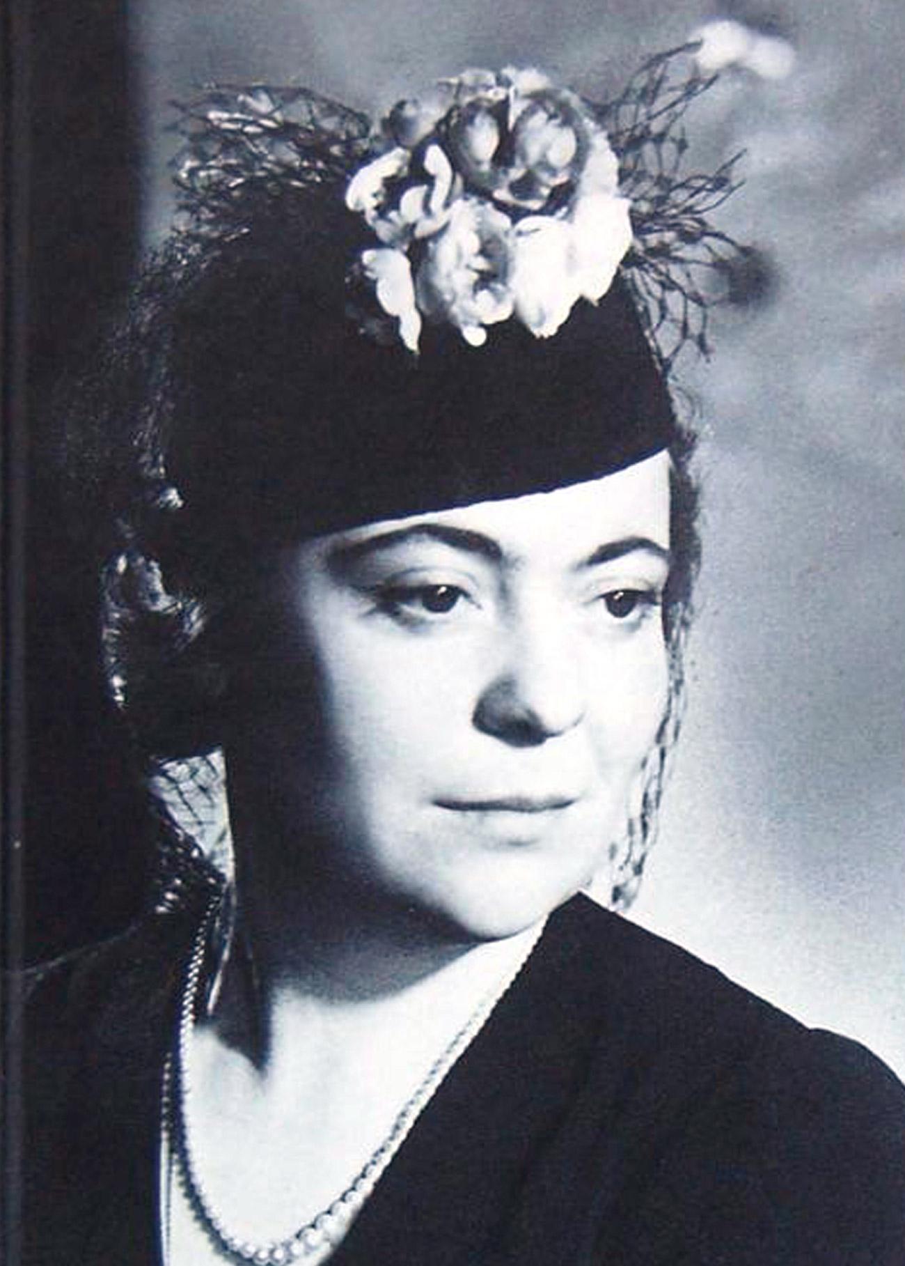 Zinaïda Chakhovskaïa. Crédit: image libre de droit