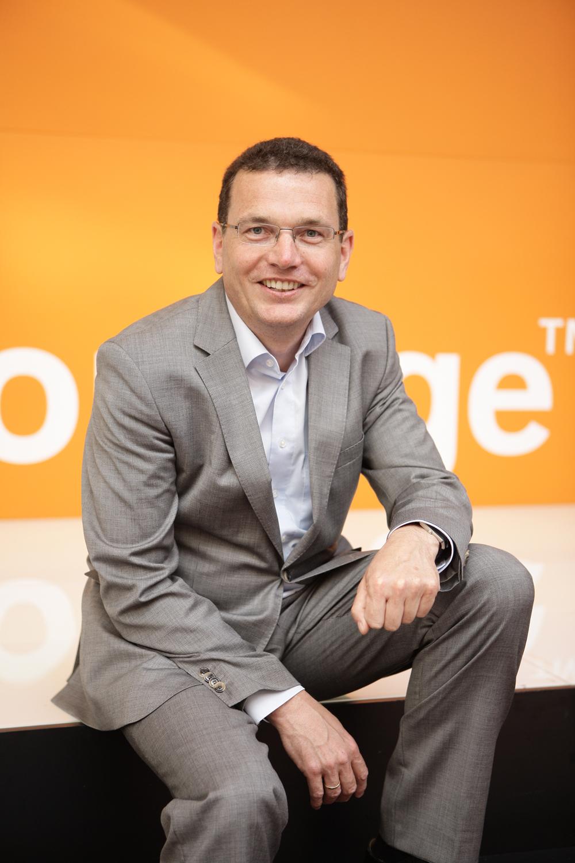 Helmut Reisinger, executive vice-président international d'Orange Business Services, en charge des pays hors France.. Crédit: service de presse