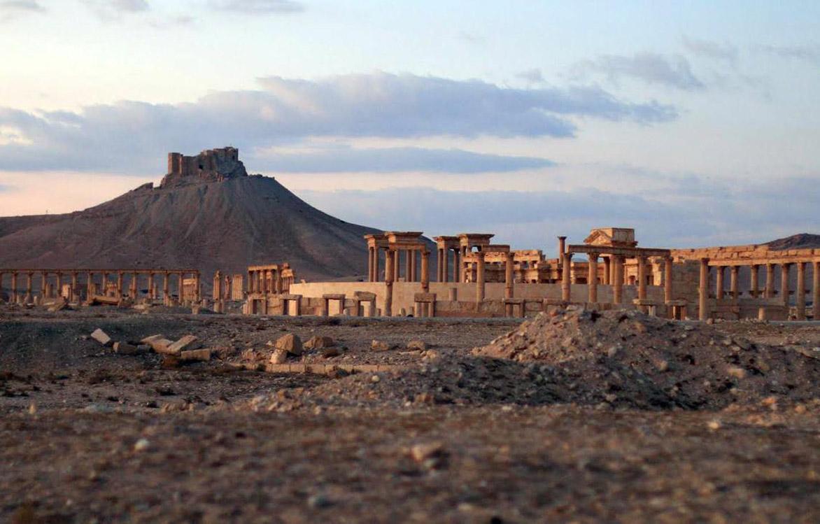 Palmyre, Syrie.