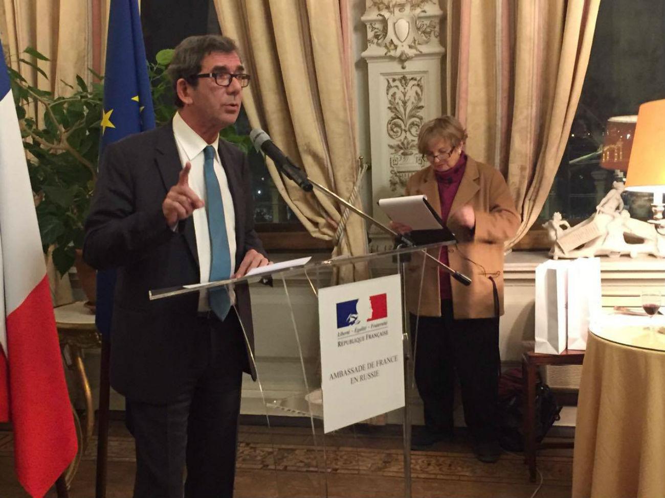 Ambassadeur de France en Russie Jean-Maurice Ripert.