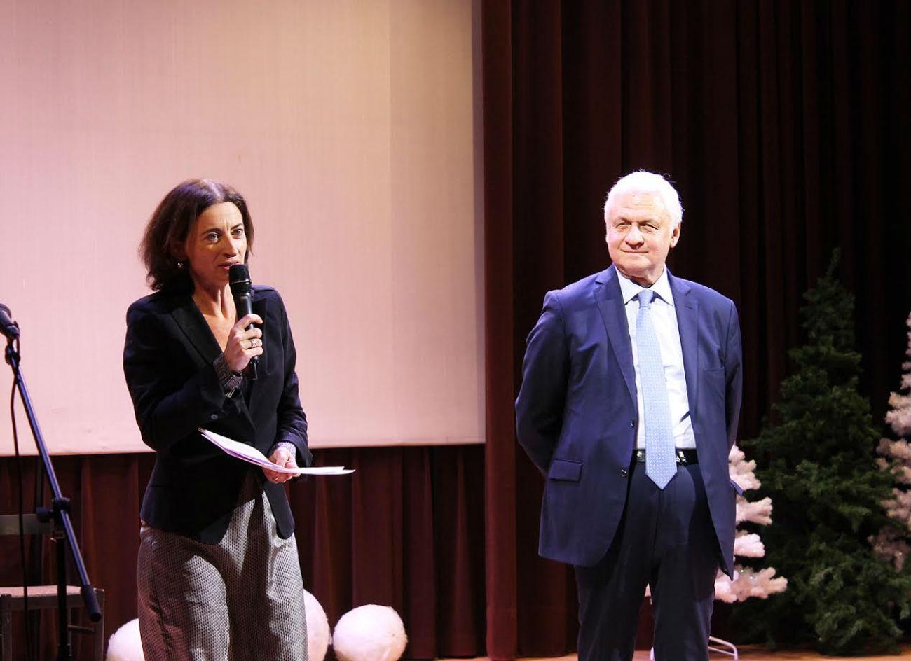 Marie Garidou et Alexandre Orlov. Crédit: Maria Tchobanov