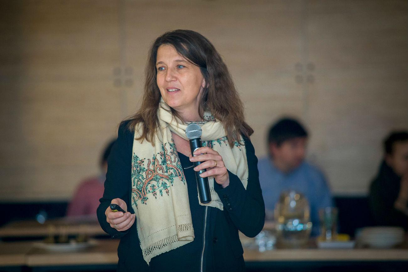 Carine Guimbard, directrice du Château d'Oiron. Crédit : Fondation caritative Vladimir Potanine