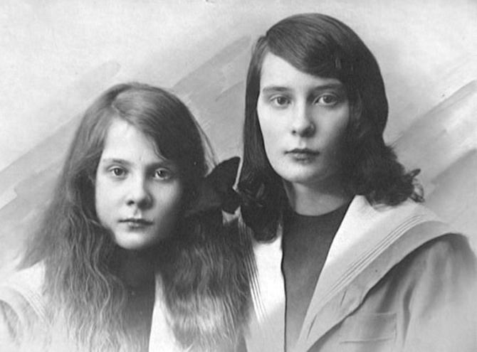 Nathalie Paley et son premier époux Lucien Lelong. Crédit: domaine public