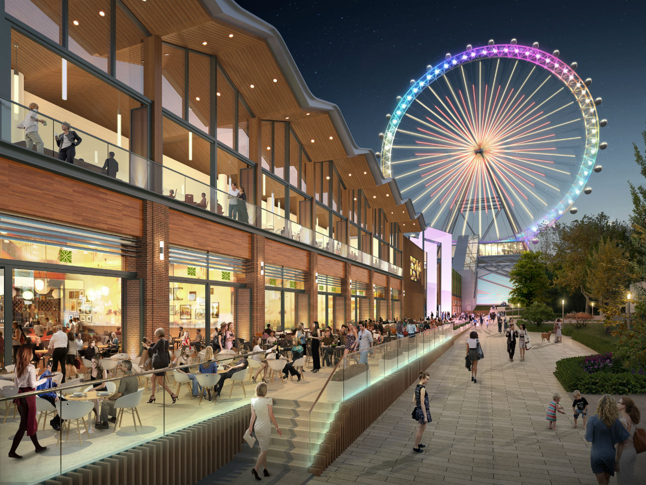 The Moscow wheel will be designed by the architectural firm, Chapman Taylor, and Intamin AG, the Swiss engineering company and maker of equipment for amusement parks.