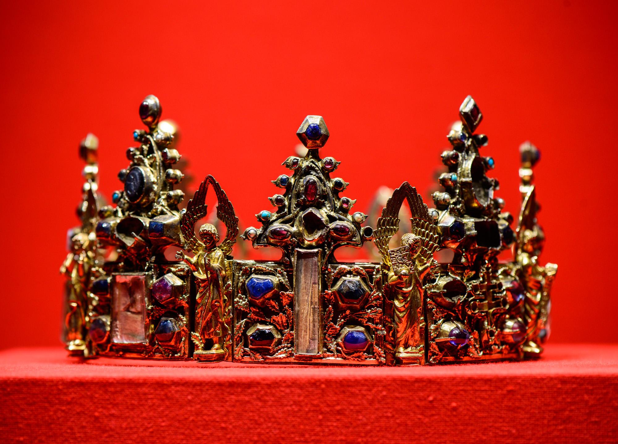 La couronne-reliquaire de Saint Louisn