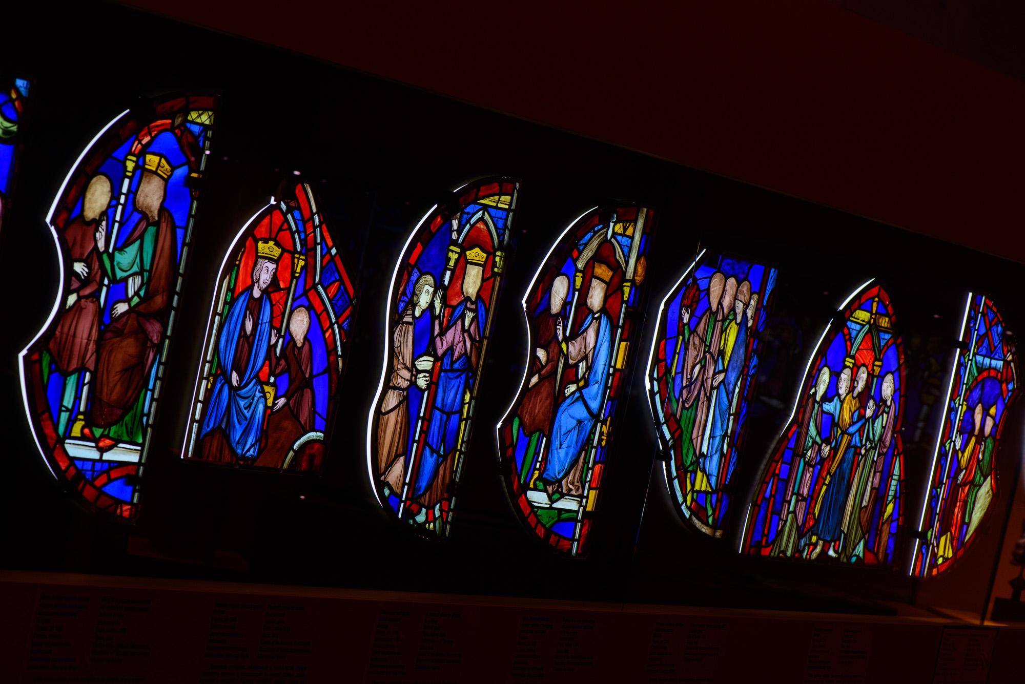 Vitraux de la Sainte-Chapelle  / Service de presse des Musées du Kremlin.