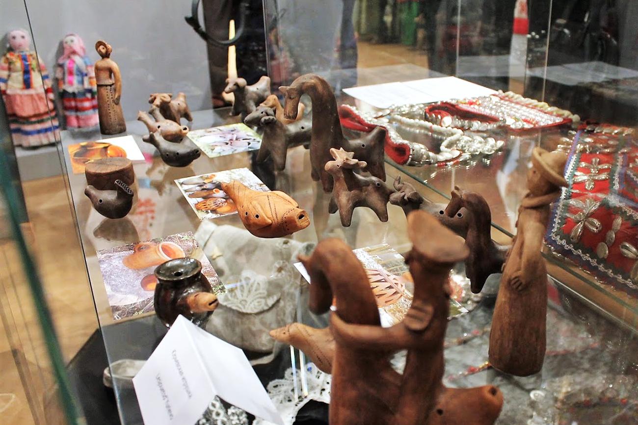 Jouets traditionnels de Iourievo, région de Lipetsk.n