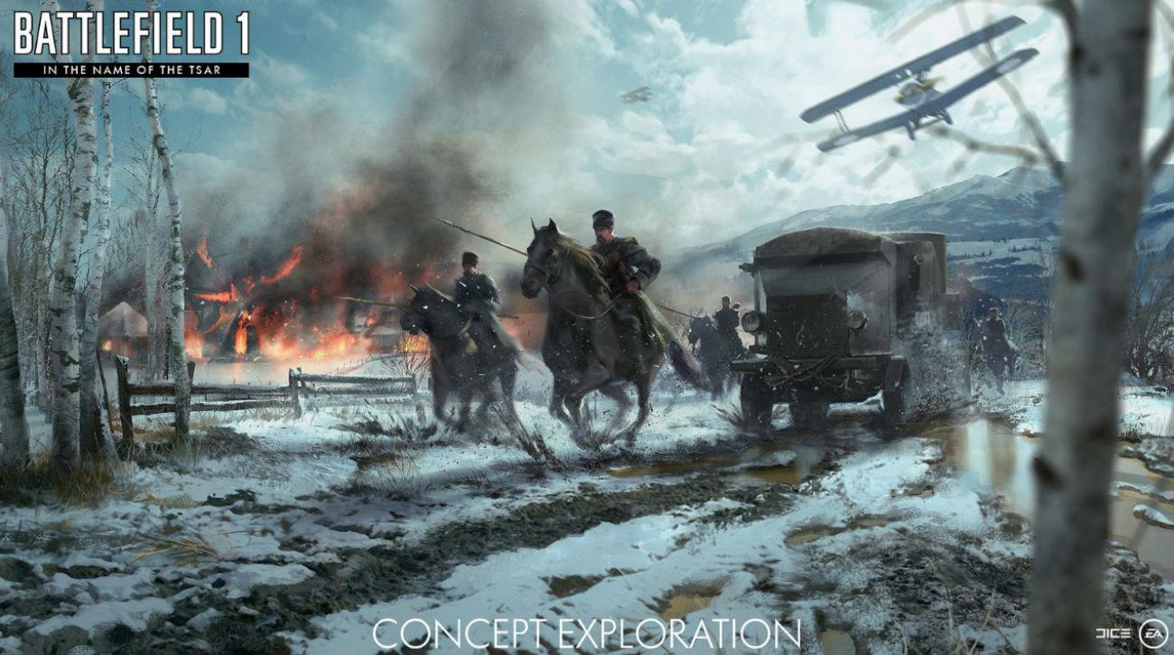 Le jeu de tir ultra-populaire plongera ses joueurs dans la Russie impériale.