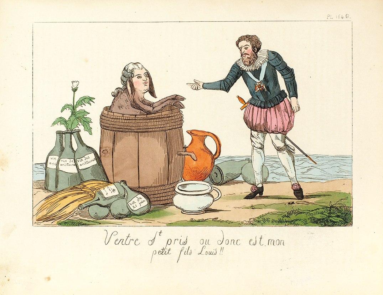 « Musée de la caricature ou Recueil des caricatures les plus remarquables ». Par E. Jaime. Chez Delloye, 1838.