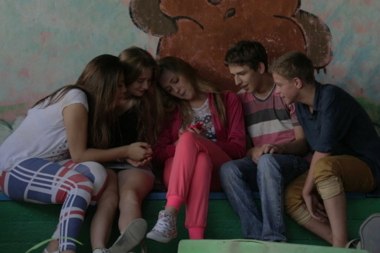 Scène du film Premier amour d'Andreï Zaïtsev.n