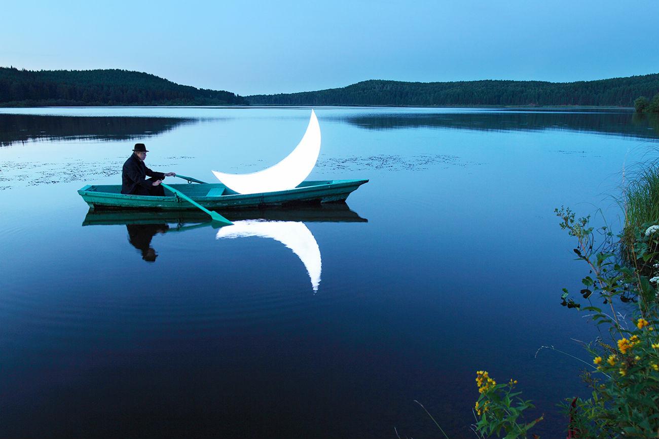 Le projet Lune privée de Leonid Tichkov.
