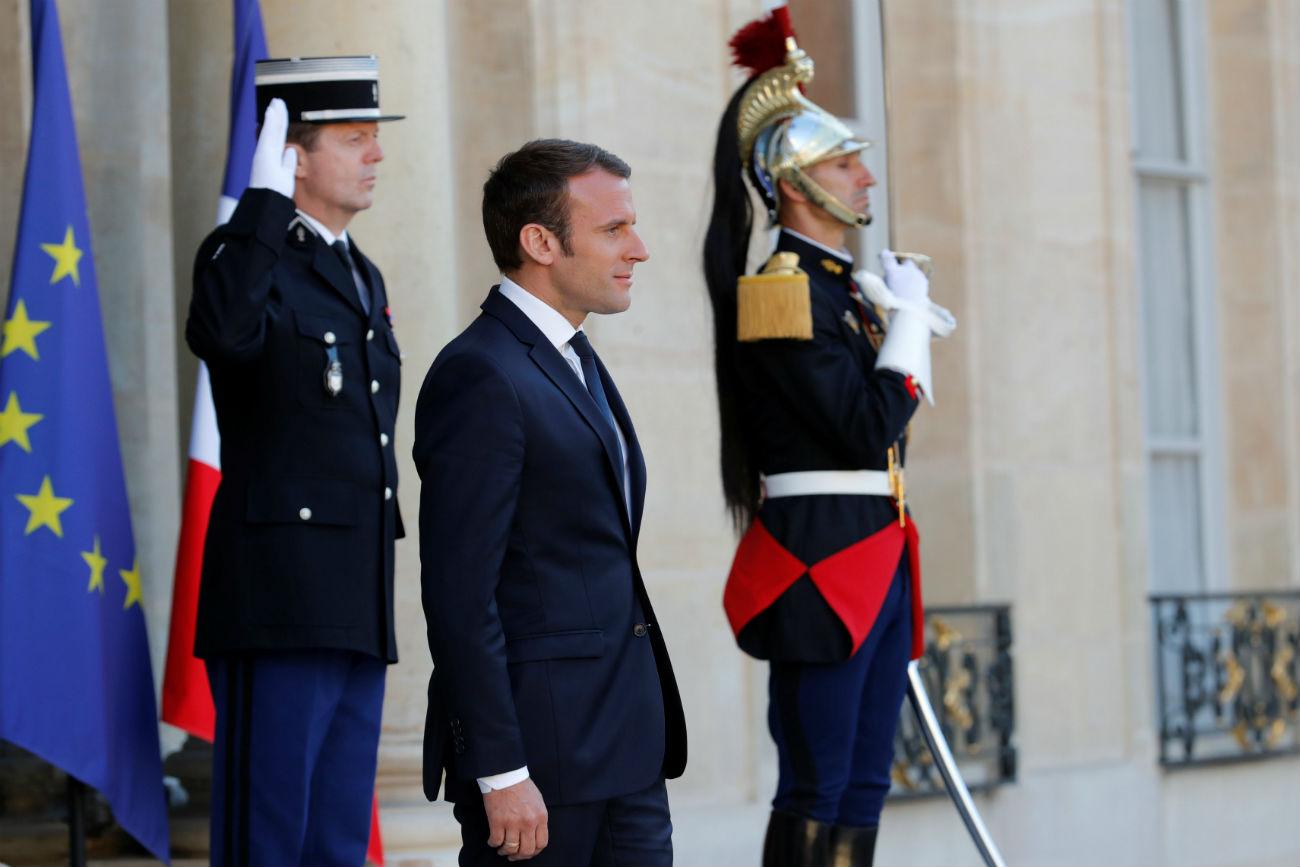 President of France - Emmanuel Macron.