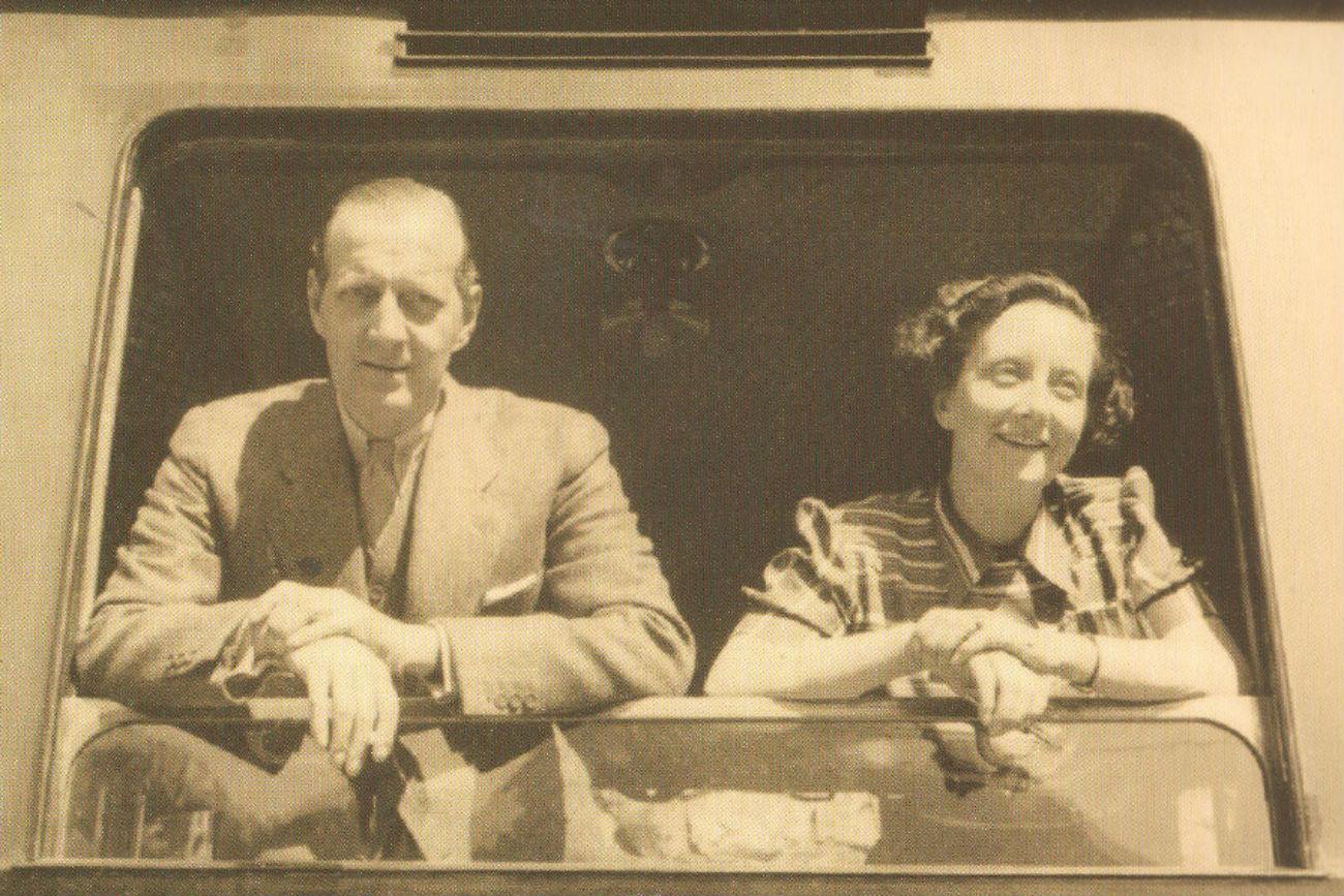Le dernier anniversaire. Saint-Moritz, Suisse. Le 6 septembre 1941.