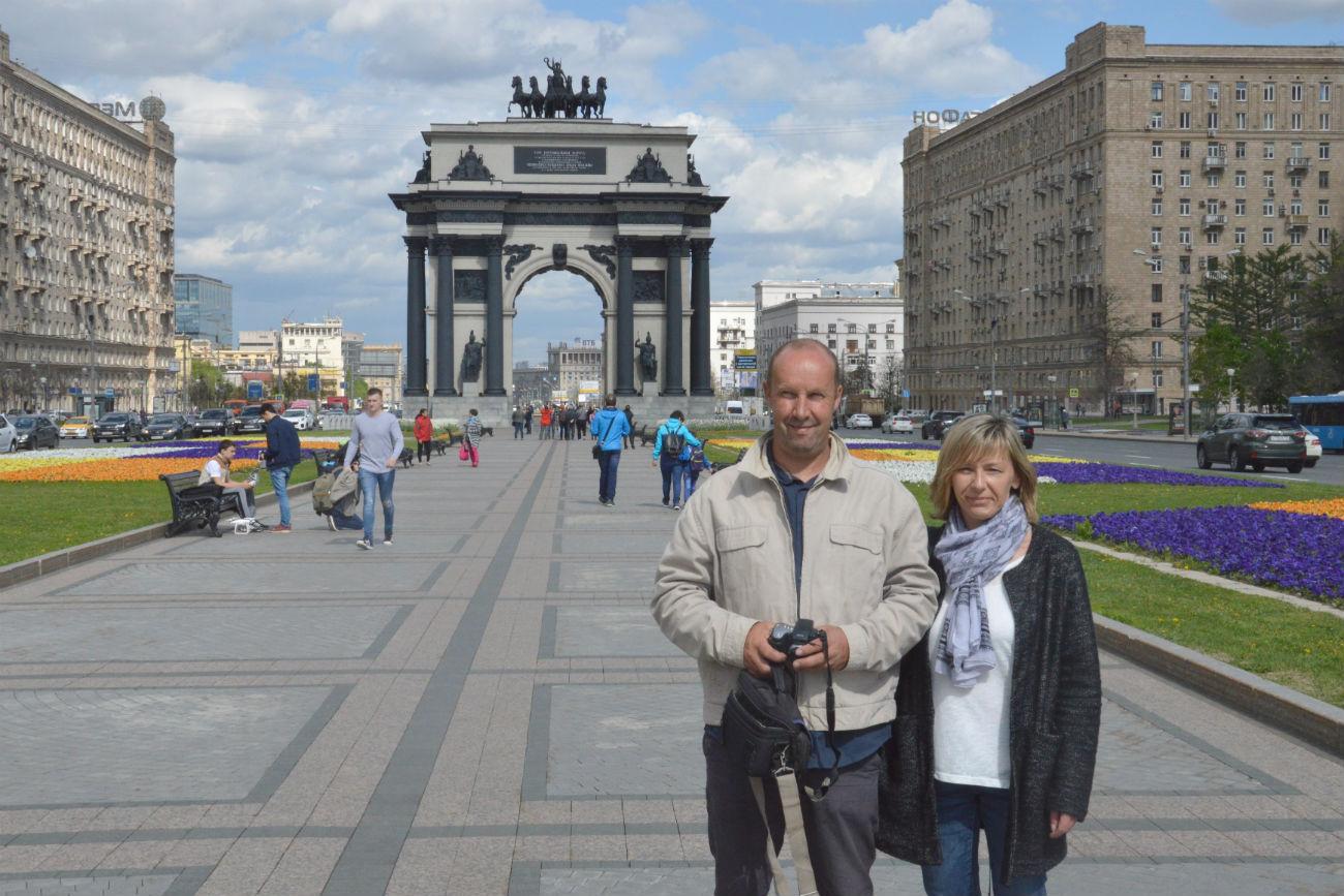 Sur la Place Rouge, Moscou. Crédit: Erwann Pensec