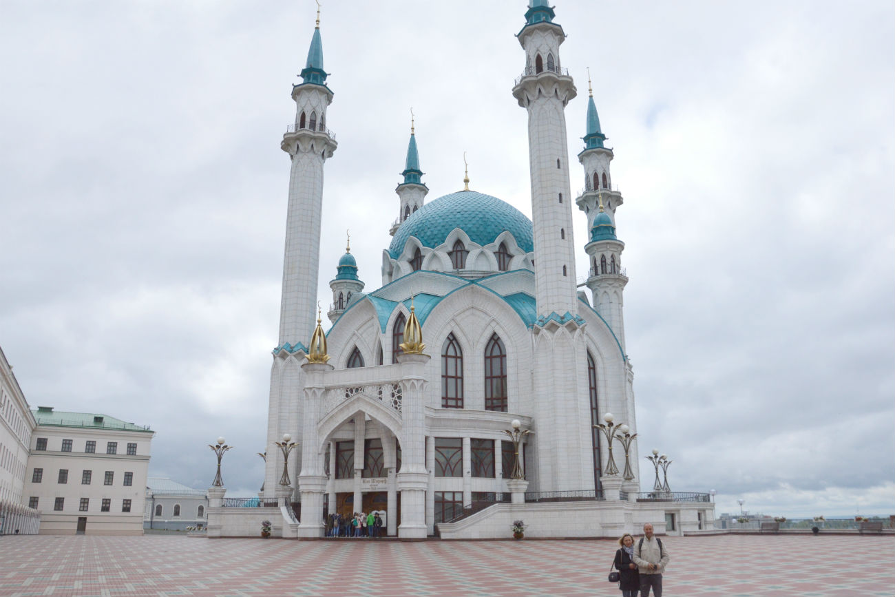 Mosquée Qolsharif, Kazan. Crédit: Erwann Pensec