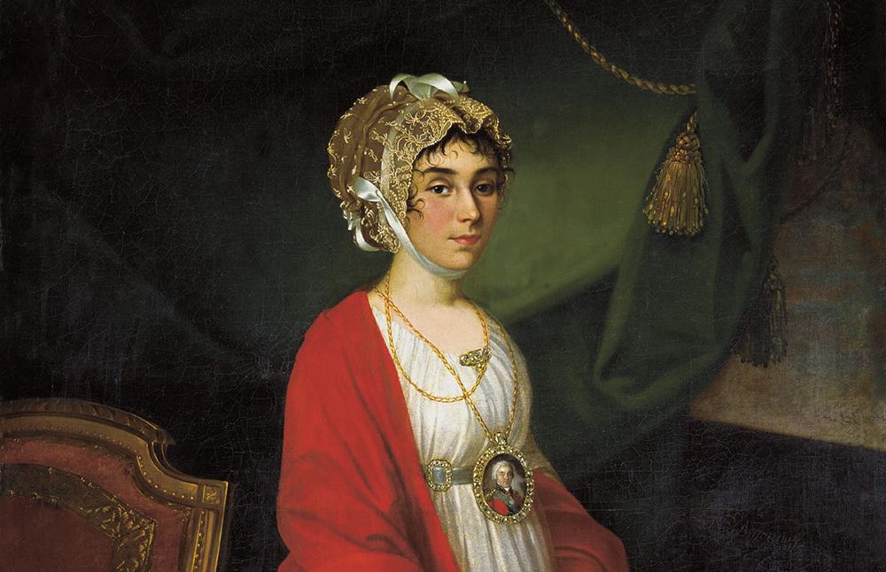 Portrait par Nikolaï Argounov