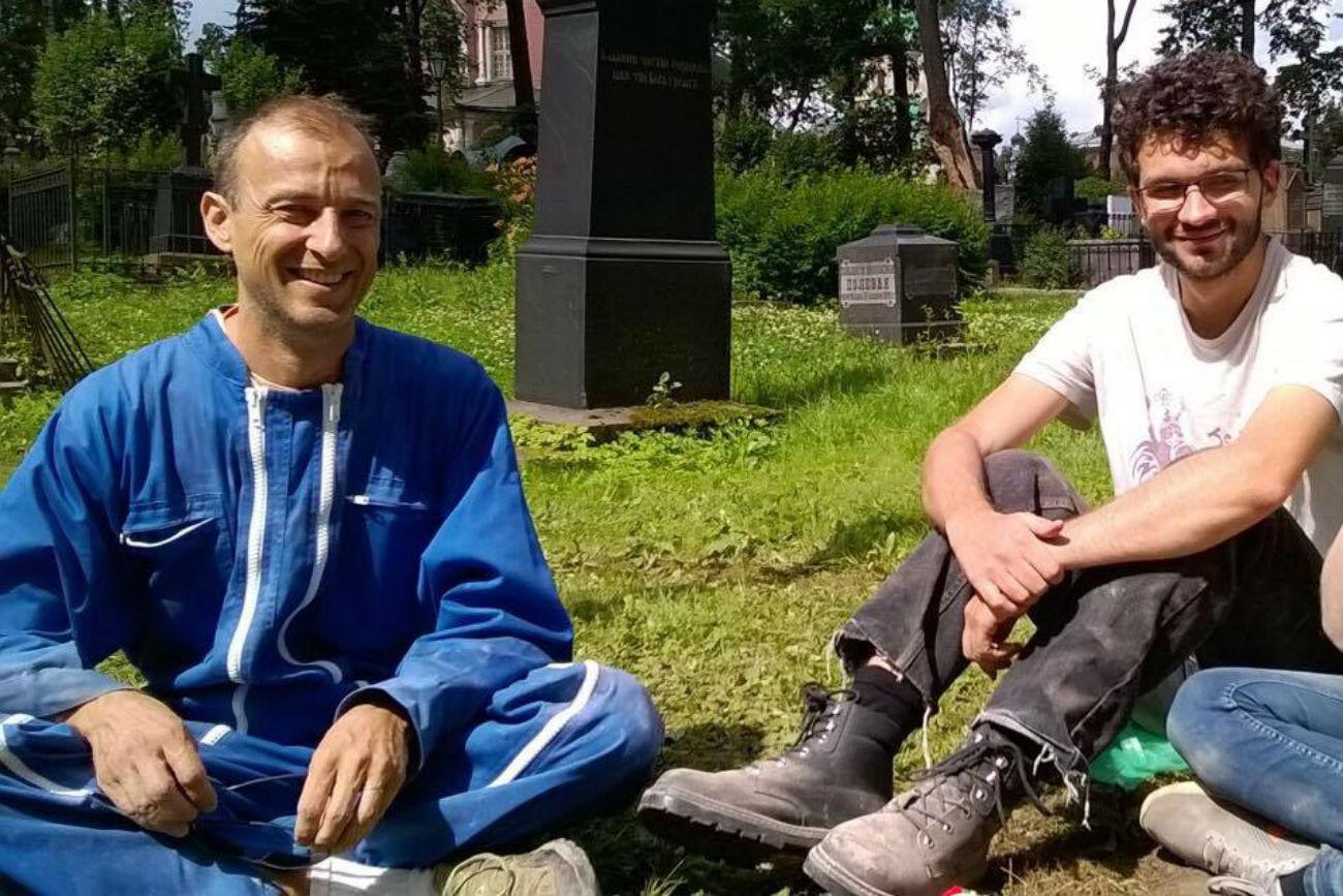 François Nicolas et Christophe Pages. Crédit: Service de presse