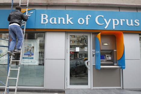 Membros russos vão ocupar 6 dos 16 cargos do conselho administrativo do Banco do Chipre Foto: Reuters