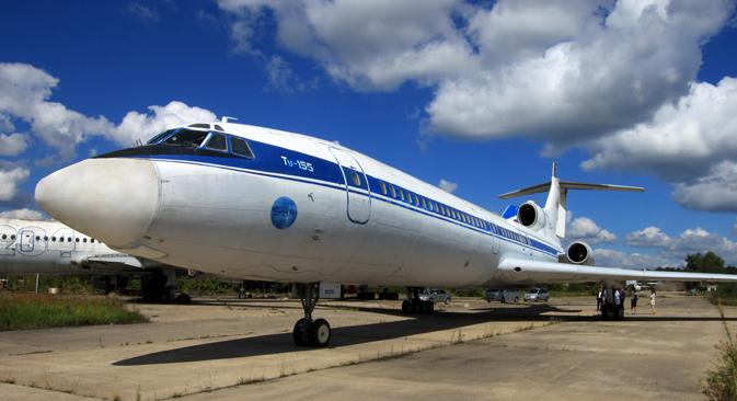 """На МАКС, който бе открит на 25 август, фондът """"Легенди на авиацията"""" представи историческа експозиция на самолети."""